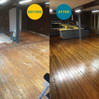 Floor Sanding & Finishing Before & After